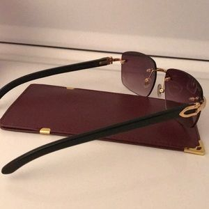 c498079db7 Cartier Accessories - Cartier genuine Buffalo Horn glasses (Black Buffs)